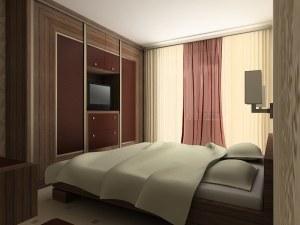 Ната Миклашевич. Спальня (визуализация быстрая)