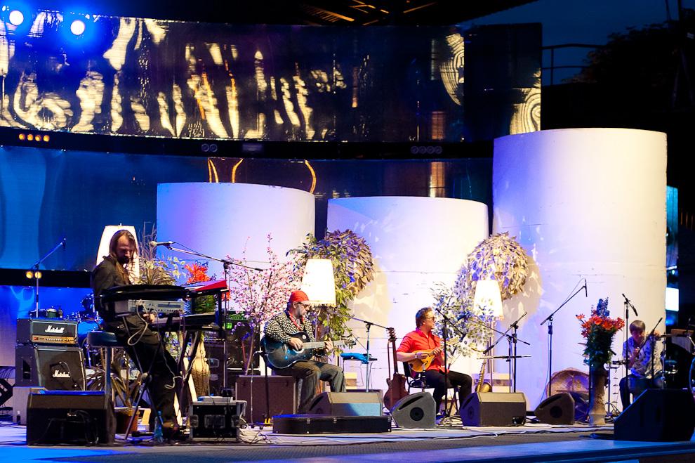 Концерт группы «Аквариум» на белорусском «Битлз-фэсте» @ Амфитеатр, Витебск