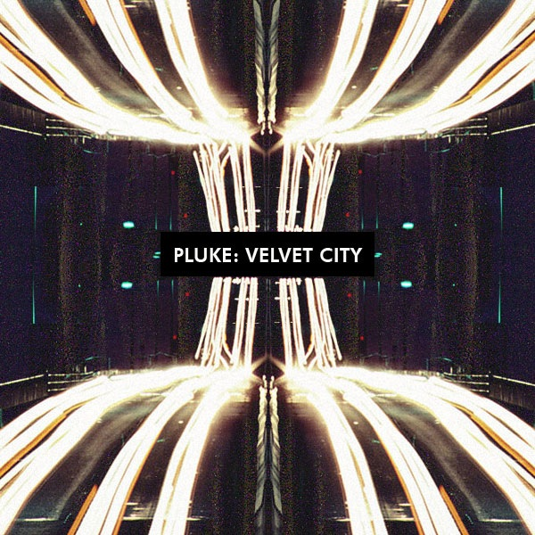 Pluke - Velvet City. Обложка сингла