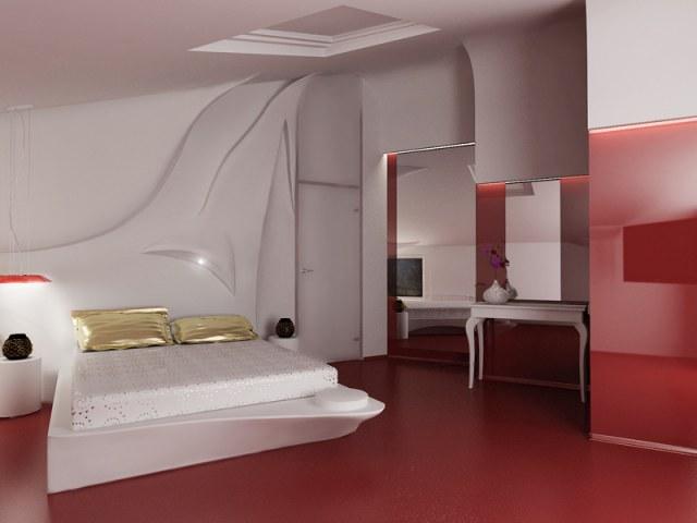 Спальня 2 (визуализация)