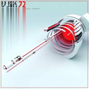 """Vjik72. Обложка альбома """"Soul Breakz"""""""