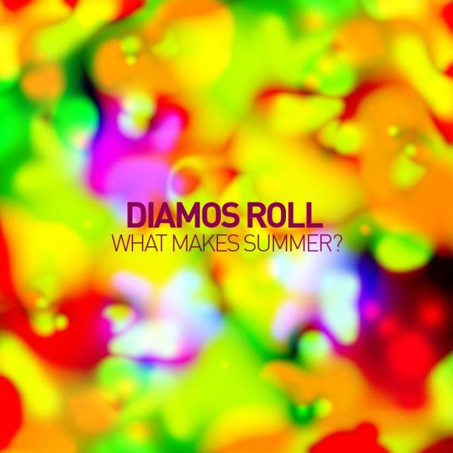 Diamos Roll — What makes summer? Обложка микса.